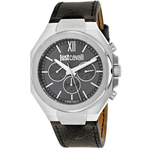 Just Cavalli Men's Strong Grey Dial Watch