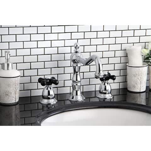 Duchess Widespread Bathroom Faucet with Brass Pop-Up