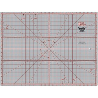 "TrueCut Double-Sided Rotary Cutting Mat-18""X24"""
