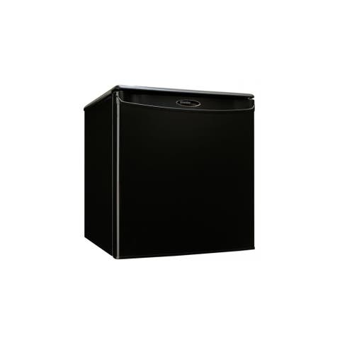 """Danby DAR017A2 18"""" Wide 1.7 Cu. Ft. Energy Star Free Standing Compact Refrigerator with CanStor - Black"""