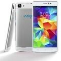 "Indigi® 3G Factory Unlocked V19 Android 4.4 KitKat SmartPhone 5.5"" HD Display + Dual-Core + Dual-Sim + Dual-Camera (White) - Thumbnail 0"