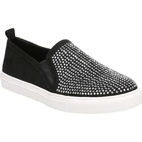 Carlos by Carlos Santana Women's Sutton Slip-On Sneaker Black Fabric