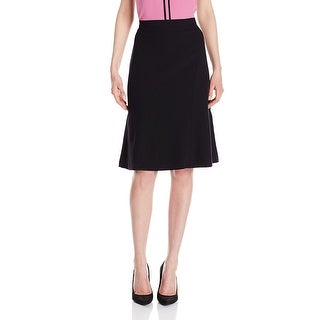 Kasper Stretch Crepe Fit & Flare Skirt