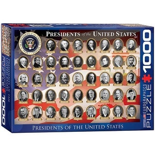 Presidents of the United States 1000 Piece Puzzle