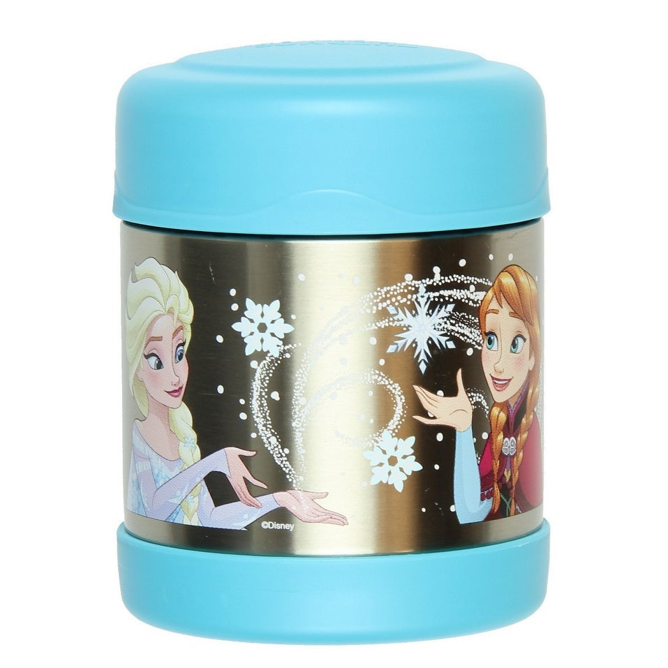 NEW Thermos Funtainer Character Frozen Ana Elsa Olaf 10 oz Food Jar Purple 290m