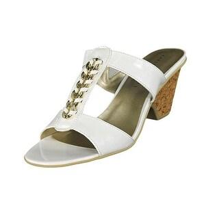 Karen Scott Womens KYLEY Open Toe Casual T-Strap Sandals