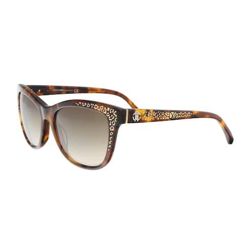 Roberto Cavalli RC991S 52G TSZE Dark Havana Square Sunglasses - 55-17-140