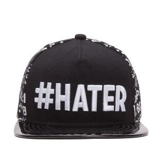 #HATER Emoticon Polished Bill Snapback