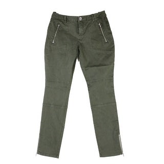 Inc International Concepts Army Green Skinny Ankle Pants 2