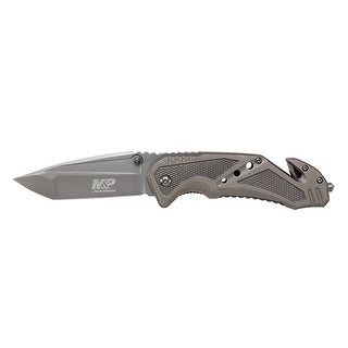 Smith & wesson by bti tools swmp11gcp smith & wesson by bti tools swmp11gcp m&p clip folder,grey blde,strap cutter,cp