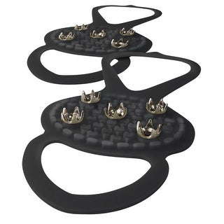 Smartworks Consumer Products Tread Pro Ice Traction Cleats - No Slip Snow and Ice Gripper Spikes for Men's/Women's Shoes