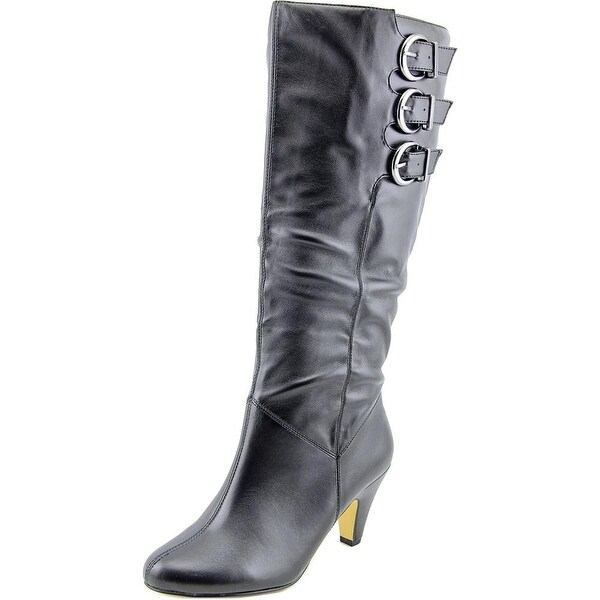 Bella Vita Transit II Wide Calf Womens Black Boots