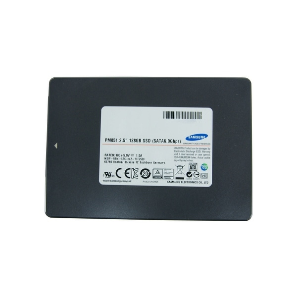 "Samsung 128 GB 2.5"" SATA SSD (Refurbished). Opens flyout."