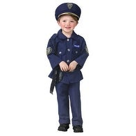 Police Man Toddler Halloween Costume