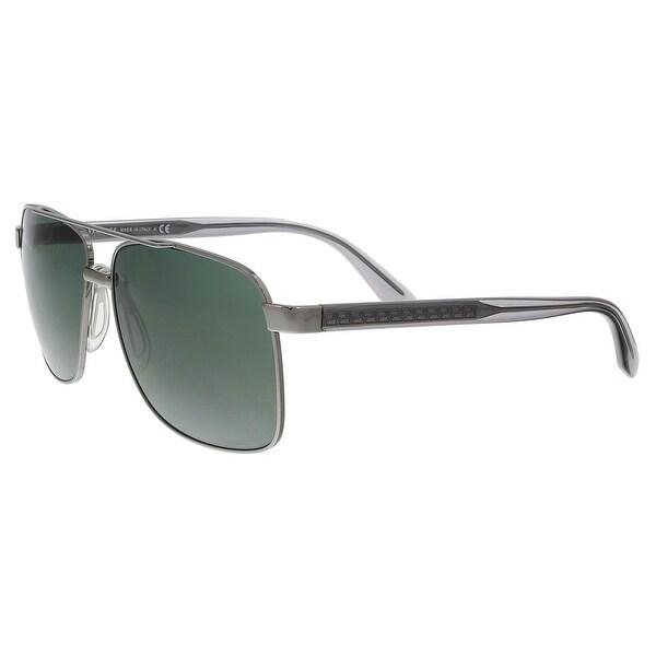 4ae01152bd91 Shop Versace VE2174 100171 Gunmetal Rectangle Sunglasses - 59-13-145 ...