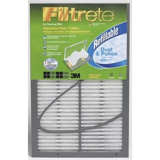 Filtrete 20x25x1 Filtrete 500 Dust & Pollen Refillable Filter by