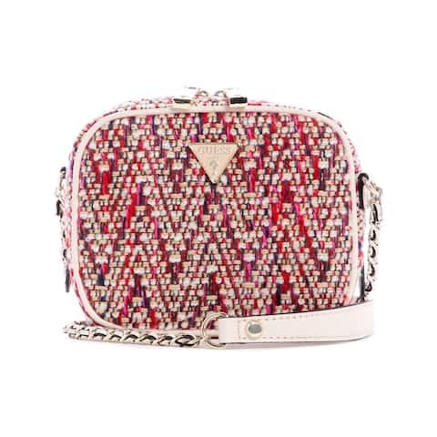 Guess Women's Cessily Mini Camera Bag Cross Body - Pink Multi