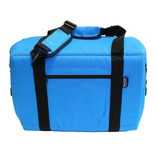 """Norchill Coolers 48 Can Soft Sided Hot/Cold Cooler Bag - Blue Soft Cooler-48 Can"""