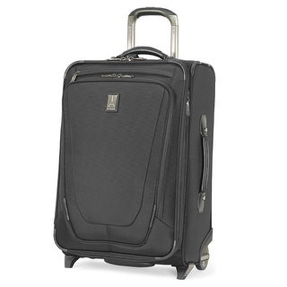 "Travelpro Crew 11 - Black 22"" Expandable Upright Suiter w/ Integrated USB Port & Lifetime Warranty"