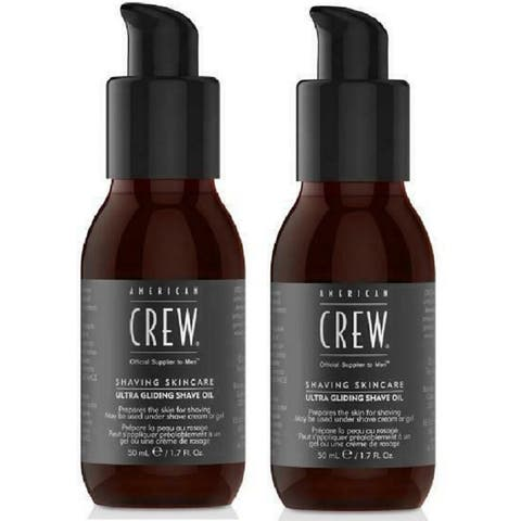 American Crew Ultra Gliding Shave Oil 1.7oz/50ml (2 PACK)