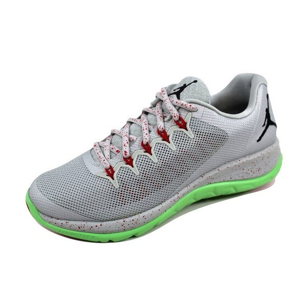sports shoes ebf13 596e3 Nike Men  x27 s Air Jordan Flight Runner 2 Grey Mist Black-
