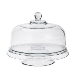 Anchor Hocking 96841 Presence 4-In-1 Cake Set Crystal Glass - pack of 2