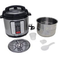 Electric Pressure Cooker Stainless Steel inner Pot - 6.3 qt