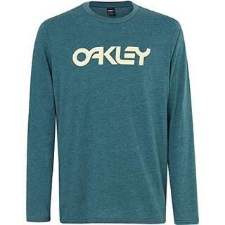 Oakley Mens Mark Ii L/S Tee, Balsam, Xxl