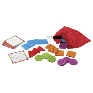 Learning Resources Teaching Tac-Tiles, Set of 20