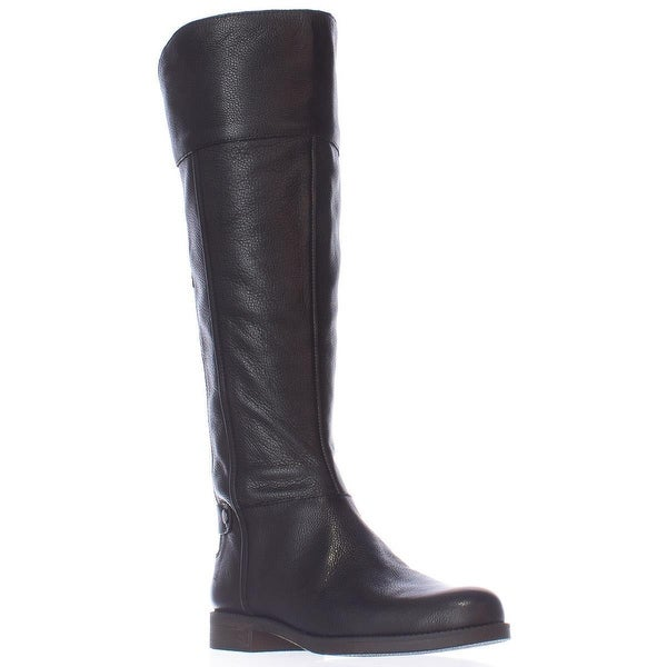 Franco Sarto Christine Wide Calf Riding Boots, Black