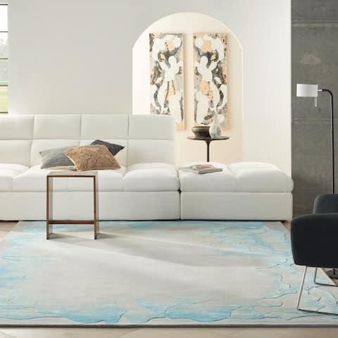 Nourison Prismatic Contemporary Abstract Area Rug
