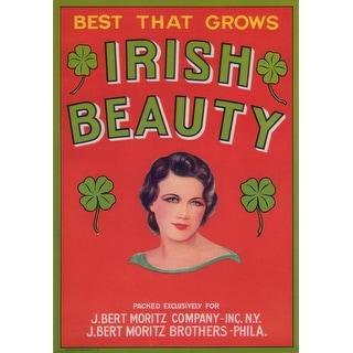 Irish Beauty Vegetable - Vintage Label (Keepsake Tin)