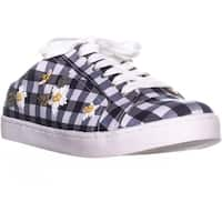 Betsey Johnson Edna Slip On Sneakers, Blue Gingham