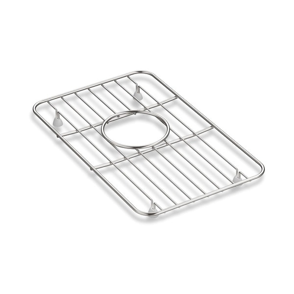 Kohler K-5874 Whitehaven Stainless Steel Basin Rack - STAINLESS STEEL - N/A