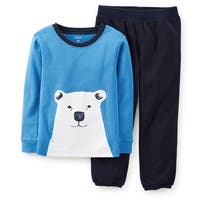 Carter's Little Boys' 2 Piece Pant PJ Set (Toddler/Kid) - Polar Bear -