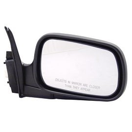 Pilot Automotive TYC 4700231 Black Passenger/ Driver Side Power Non-Heated Replacement Mirror for Honda Accord 94-97