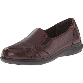 Aravon Womens Faith Leather Slip On Loafers
