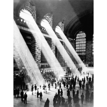 ''Grand Central Station'' by Photography Collection Kunst Graphics Art Print (11.75 x 9.5 in.)