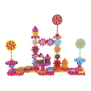 Learning Resources Gears, Gears, Gears! Sweet Shop Building Set, Set of 82