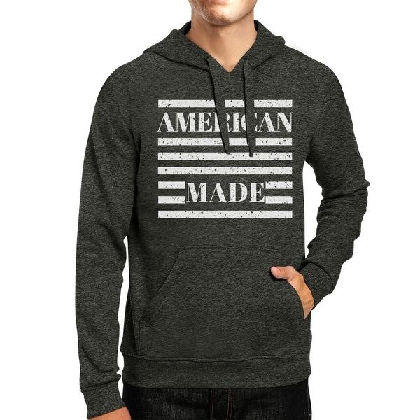 ce53a640bf052 Shop American Made Unisex Grey Hoodie Cute 4th Of July Design Hoodie ...