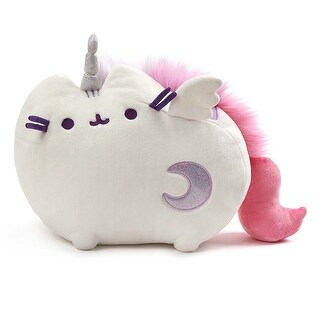 "Pusheen the Cat 17"" Super Pusheenicorn Plush w/ Lights & Sound - multi"