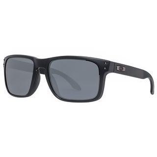 Oakley Holbrook OO9102-63 55mm Matte Black Iridium Men's Sunglasses - MATTE BLACK - 55mm-18mm-137mm