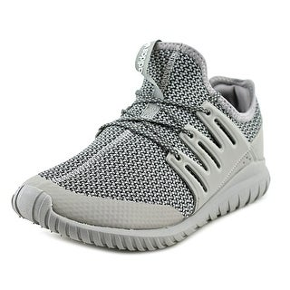 Adidas Tubular Radial Youth Round Toe Synthetic Gray Sneakers