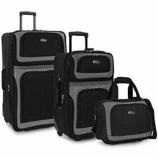 Link to New Yorker 3-Piece Rolling Luggage Set Similar Items in Luggage Sets