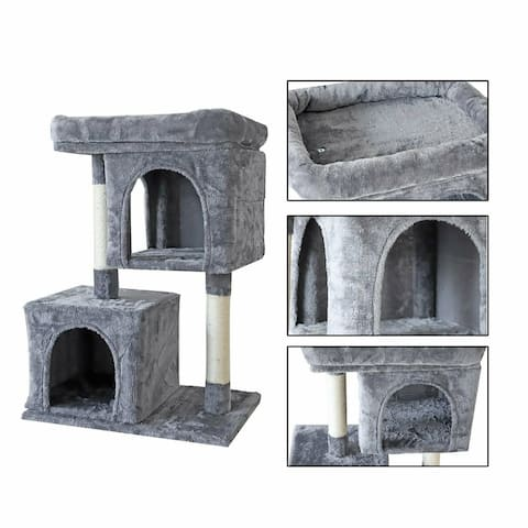 confote 33'' Cat Tree Tower Condo Activity House