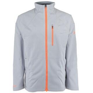 Under Armour Men's Baitrunner Jacket - overcast grey/citrius blast - XL