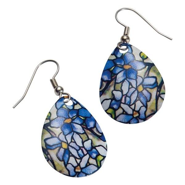 David Howell & Company Women's Tiffany Clematis Earrings ...