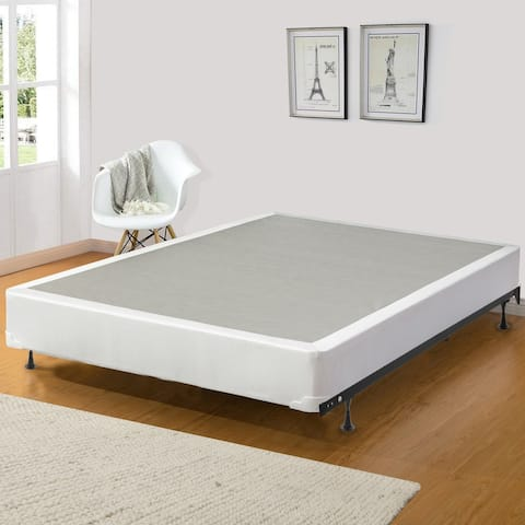 ONETAN, 8-Inch Wood Fully Assembled Traditional Box Spring / Foundation For Mattress.