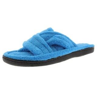Beverly Rock Womens Microfiber Comfort Slide Slippers - 7-8