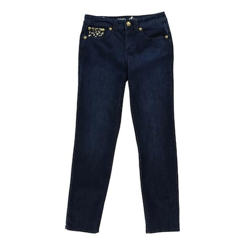 Style&Co. Womens Embellished Slim Fit Jeans - 4